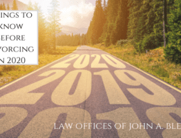 Things to know before divorcing in 2020 law offices of john a bledsoe (1)