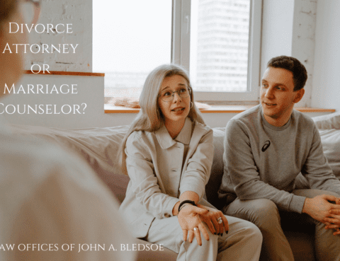 Divorce Attorney or Marriage Counselor