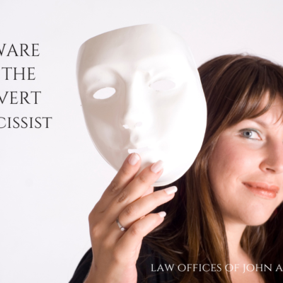 BEWARE OF THE COVERT Narcissist